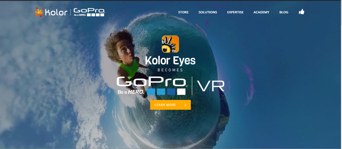 kolor eyes - 360 degree video player