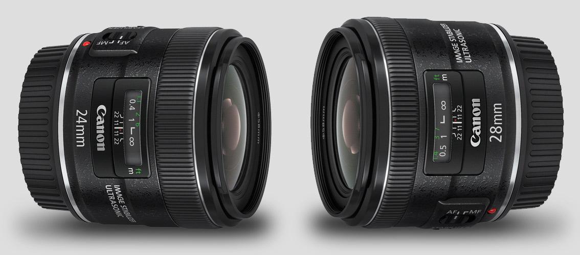 Canon 24mm vs 28mm