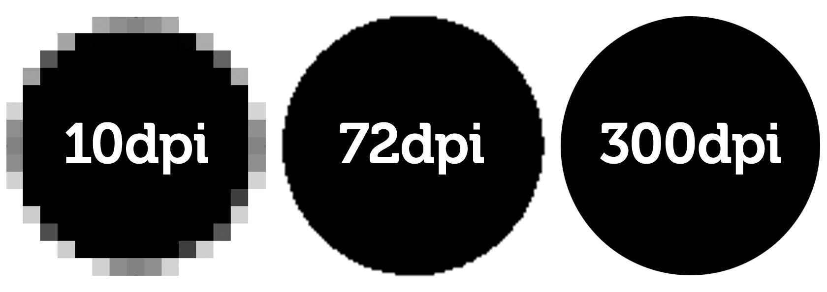 Change 72 DPI to 300 DPI