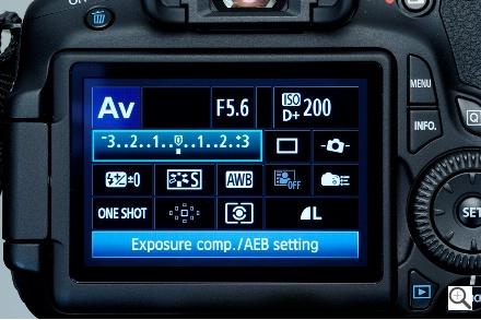 Canon 60 D aperture