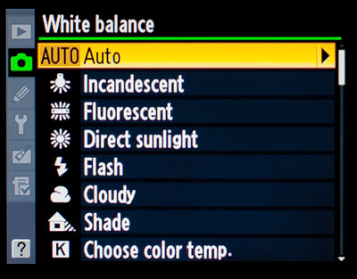 How to get the perfect white balance?