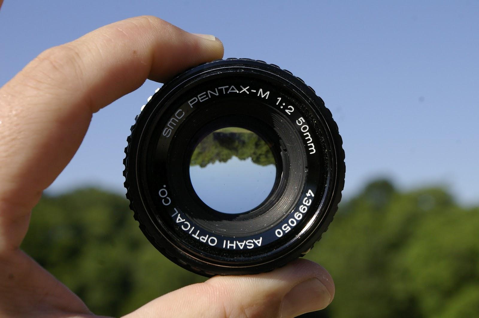 Pentax SMCP-M 50mm f2 lens.