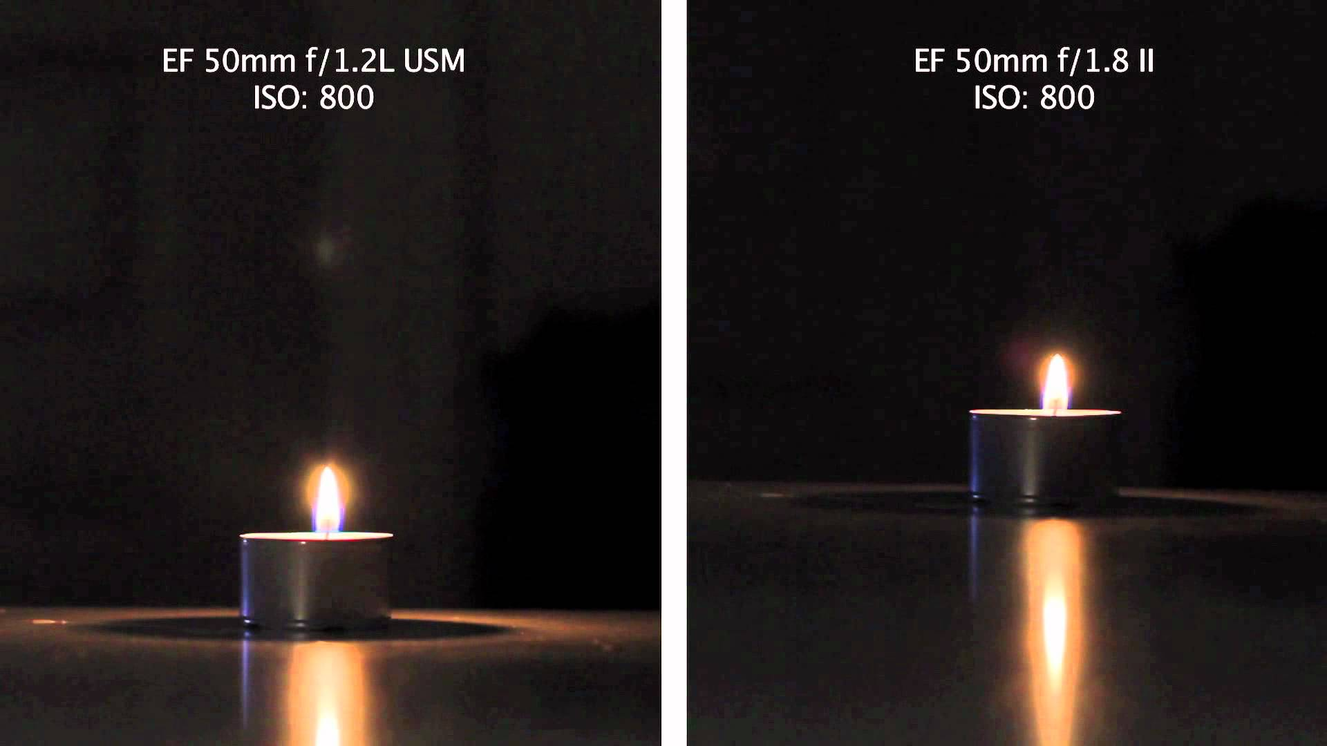 Shot at night Canon 1.2 vs 1.4