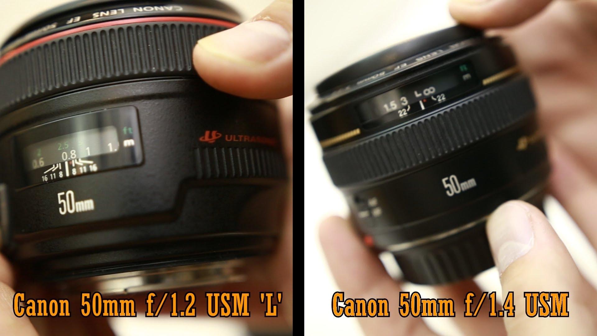 Canon 1.2 vs 1.4