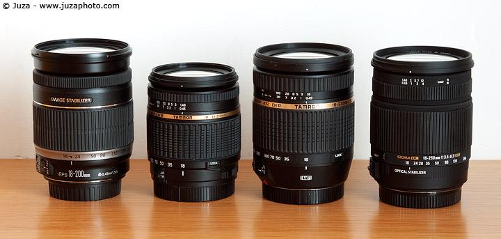 Sigma 18 250 vs Nikon 18 200 vs Nikon 70 300 vs Nikon 55 300